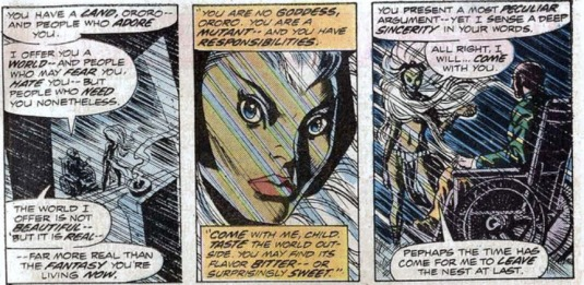 Storm - first appearance - 2