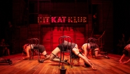 The Kit Kat Klub dancers. Choreography by Nicole Helfer. Photo by Jessica Palopoli.