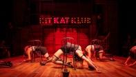 The Kit Kat Klub dancers. Choreography by Nicole Helfer. Photo by Jessica Palopoli.