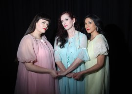Lady Malavendra, Red Velvet, and Dee O's Mio. Photo by Ross Pearson