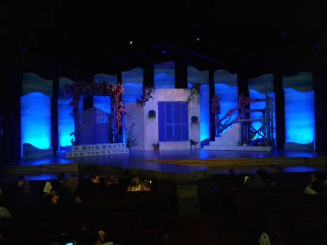 Act 2 set by Mark Mendelson. Photo by Me.
