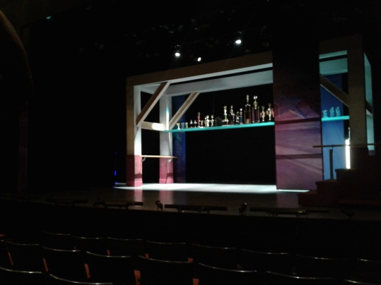 Dance Nation Bay Area-West Coast premiere at SF Playhouse (2019) - set
