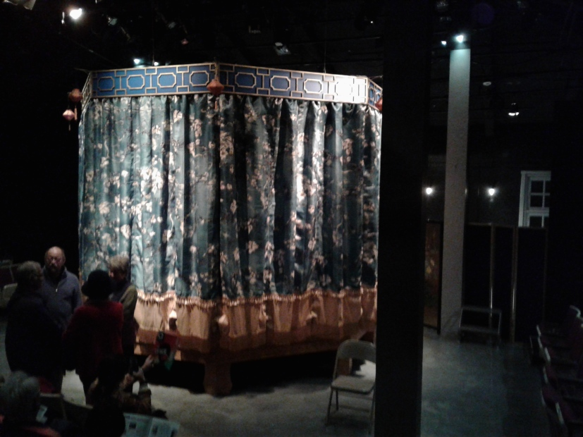 Pre-show set (front) by Jacqulyn Scott. Photo by Me.