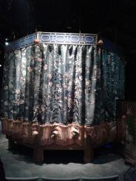 Pre-show set (side) by Jacquelyn Scott. Photo by Me.